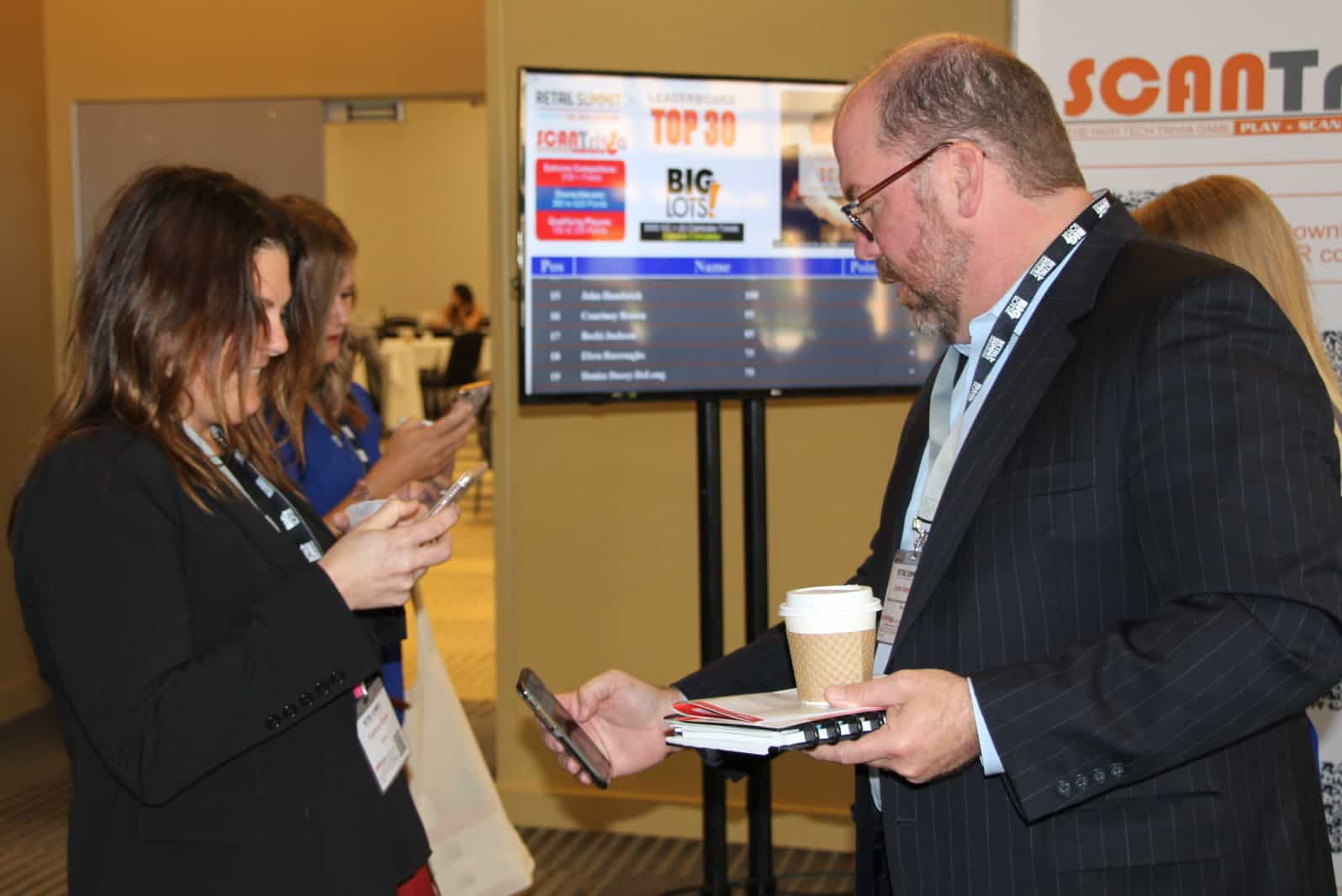 Interactive Badges increases attendee engagement