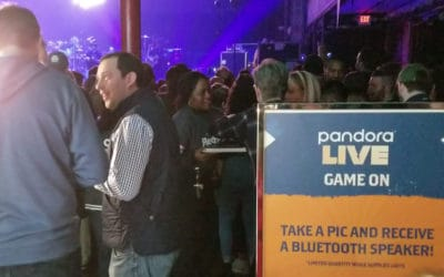 Pandora launches Gamification during Live Concert