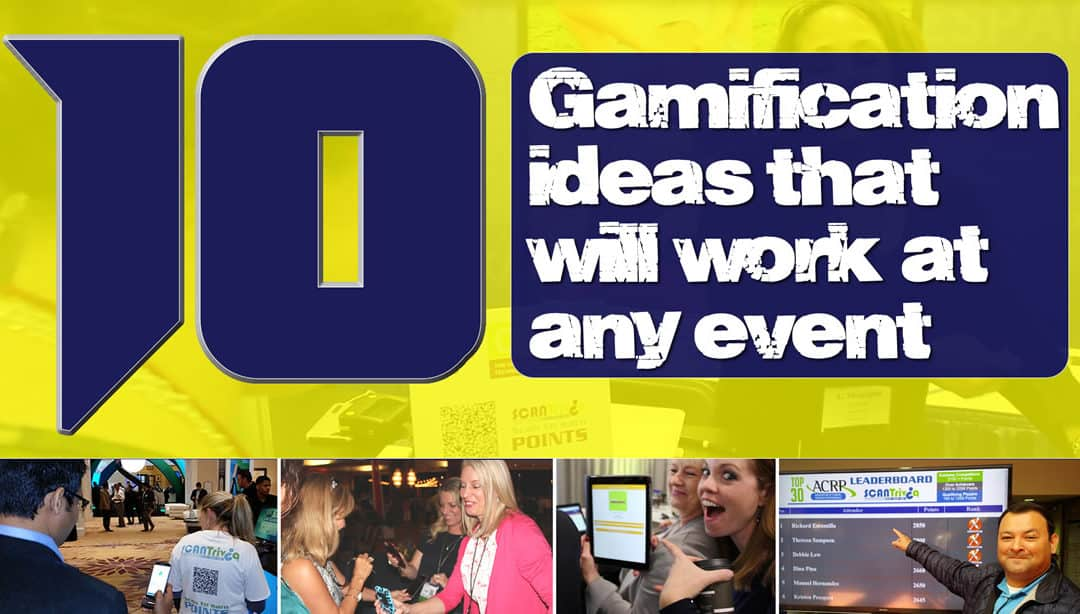 10 Gamification Ideas that will work at any event 5