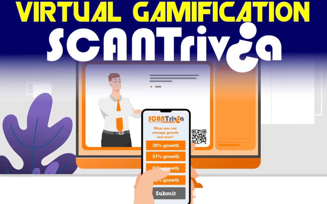 Virtual conference gamification